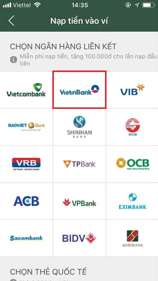 liên-kết-ví-momo-với-ngân-hàng-vietinbank