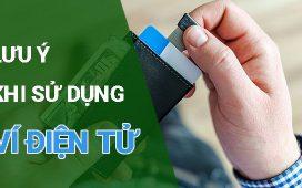 sử dụng ví điện tử an toàn