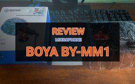 danh gia microphone boya by-mm1