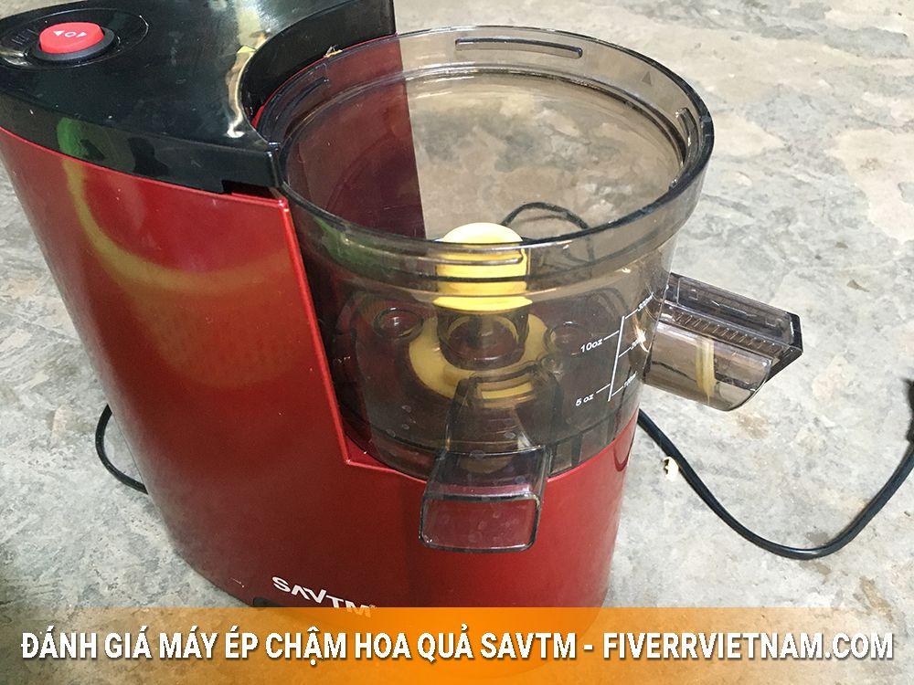 máy ép chậm hoa quả savtm 3