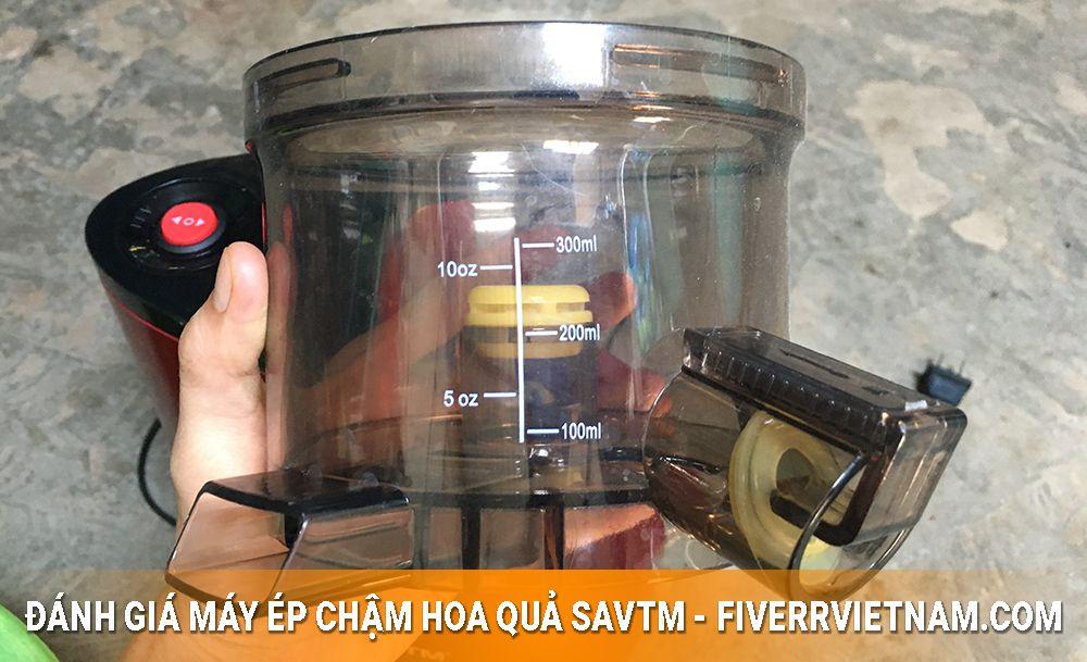 máy ép chậm hoa quả savtm 4