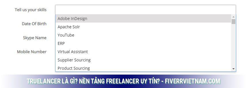 truelancer là gì - đang ký tài khoản 7