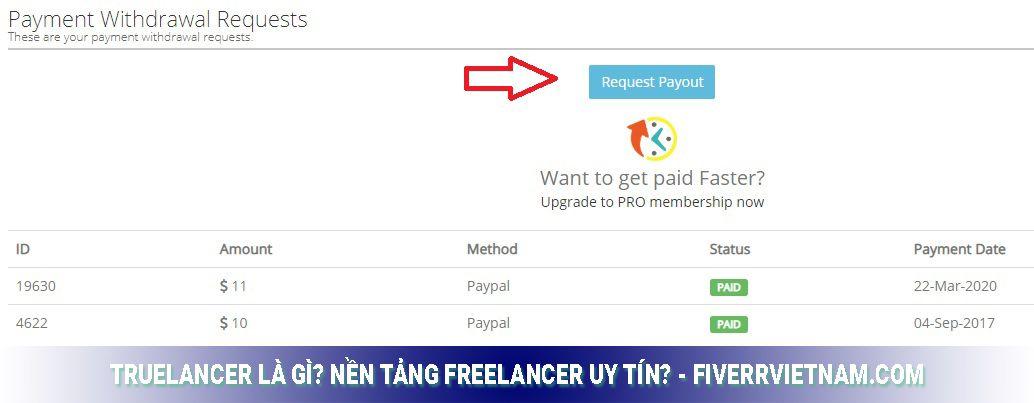 truelancer là gì - cách rút tiền 2