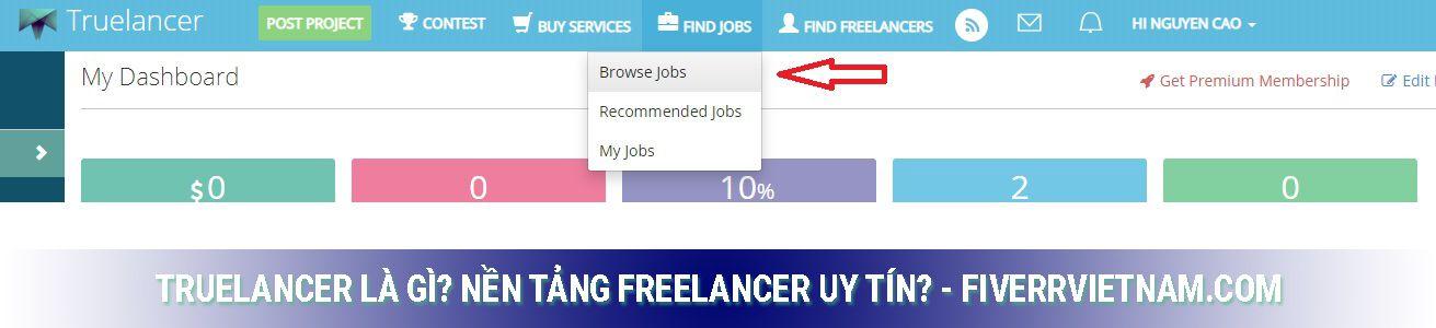 truelancer là gì - tìm việc và khách hàng 1